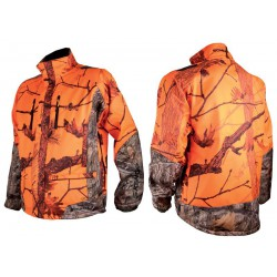 VESTE SOMLYS SOFTSHELL CAMOUFLAGE ORANGE