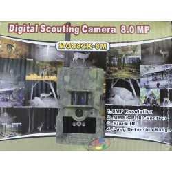 CAMERA DIGITAL SCOUTING 8M MMS-GPRS