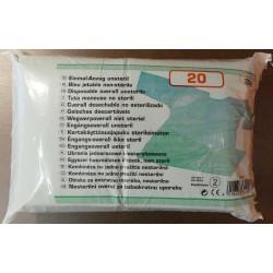 BLOUSE UU VERT (X20) - Polyethylène