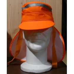 CASQUETTE ORANGE FLUO / REFLECHISSANTE SECURITE