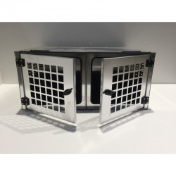 CAGE A CHIEN SIMPLE L400xP600xH400