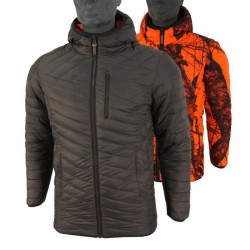 DOUDOUNE STAGUNT REVERSIBLE CERTINO ORANGE CAMO/BRUN