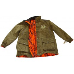 PARKA FARMLAND REVERSIBLE ORANGE CAMO/VERT