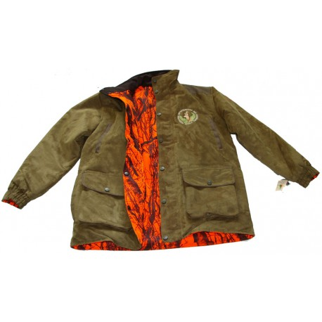 PARKA FARM-LAND REVERSIBLE ORANGE CAMO/VERT